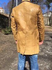 Vintage Armani Jeans Goat Leather Jacket Stunning