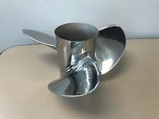 Mercury Reconditioned 48-88444 13.5 x 23 RH Stainless Steel 3 Blade Propeller