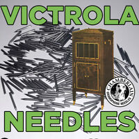 300 LOUD-MEDIUM-SOFT TONE MIXED NEEDLES for Victrola Gramophone Phonograph Crank