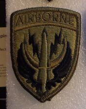 ARMY PATCH, SPECIAL OPERATIONS COMMAND CENTRAL  ,MULTI-CAM,SCORPION,W/ hook loop