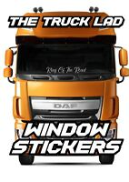 KING OF THE ROAD WINDOW VINYL STICKER X1 SCANIA VOLVO ACTROS MAN TRUCK HAULAGE