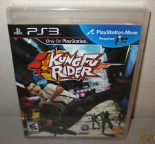 KUNG FU RIDER Sealed NEW PlayStation 3 PS3 PlayStation Move Required Motion Game