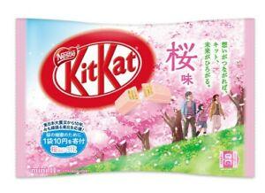 Japanese KitKat Nestle Sakura chocolate 11 pcs,2021NEW,from Japan