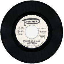 """TOMMY FRONTERA  """"STREET OF SHAME c/w MERRY-GO-ROUND"""" DEMO NORTHERN SOUL"""
