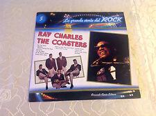 """LA GRANDE STORIA DEL ROCK 5 (LP) """"RAY CHARLES / THE COASTERS"""" [IT / 1981] M-"""