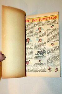 Blondie, Dagwood & Daisy #1 Rare Harvey File Copy 100 Pages Popeye 1953 VF-