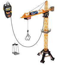 Dickie Mega Crane Kran mit Kabelfernsteuerung