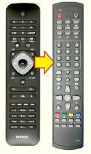 Ersatz Fernbedienung Philips 242254990477 für 32PFL3258 / 42PFL5038H / 42PFL6007