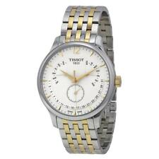 BOX SET Tissot Tradition Perpetual White Dial Two-tone Mens Watch T0636372203700