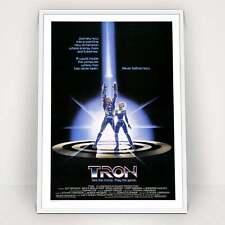 Tron - 1982 - 80s Classic Vintage Movie Poster Print