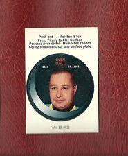 1968-69 O-PEE-CHEE PUCK #13 GLEN HALL  (HOF) OPC MINT / GEM MINT PACK FRESH