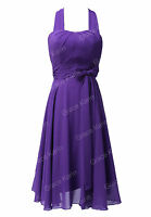 Gothic Short Formal Mother Of the Brides Evening party Prom Dress Plus Size 6-20