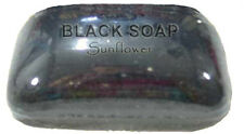 AFRICAN BLACK SOAP- World Renown- All Natural- Acne,Scar,Wrinkle,Treatment-Cure