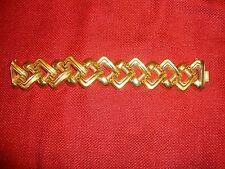 "GORGEOUS 1.5"" WIDE 14K GOLD ITALIAN BRACELET (71 GRAMS OR 2.5 OUNCES)"