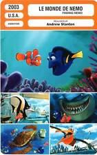FICHE CINEMA : LE MONDE DE NEMO - Andrew Stanton 2003 Finding Nemo