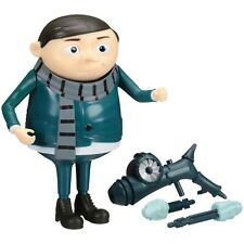 Despicable Me Deluxe Action Figure YOUNG Gru with Freeze GUN 6 IN HTR RARE