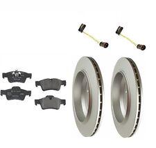 Mercedes W164 GL450 07-12 Rear Rotors with Pads Sensors Brake Kit OEM