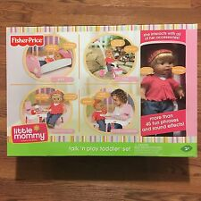 NEW Fisher Price Little Mommy Talk 'N Play Toddler Interactive Talking Doll NIB