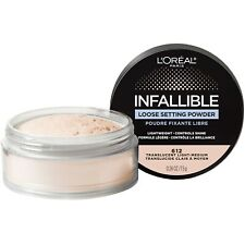 2 x L'Oreal Infallible LOOSE SETTING POWDER 612 Translucent Light-Medium