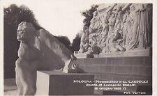BOLOGNA - Monumento a G.Carducci - Opera di Leonardo Bistolfi - G.Vettori