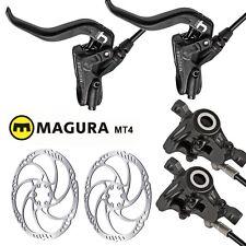 Magura Mt4 idraulico freno a disco Nero 2 pistoni