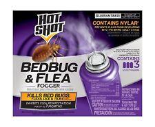 Hot Shot 95911 Bedbug and Flea Fogger, (3 count) 1-Pack (3 Count)