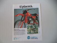 advertising Pubblicità 1980 MOTO BETA CR 125 CROSS e STEFANO GUALDANI