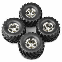 1/10 Rc Monster Wheels Tires for Hpi Jumpshot Mt E-Savage