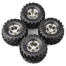 1/10 Rc Monster Wheels Tires for Traxxas Stampede Bigfoot Grave Digger Skully