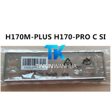 NEW IO I/O SHIELD back plate BLENDE BRACKET for ASUS H170M-PLUS H170-PRO C SI