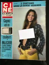 Ciné-Revue du 17/10/1974; L'érotisme et la bande dessinée/ Claudia Cardinale