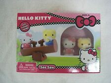 Hello Kitty See Saw Flocked Figurines from Sanrio - New - CHRISTMAS GIFT!!