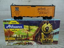 Athearn 5019 HO Scale 40ft ATSF Reefer Boxcar El Captain Wagon Model Boxed