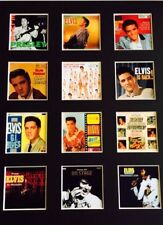 """Elvis Presley LP Discography Picture 14"""" X 11"""" Free Postage"""