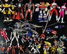 Huge Lot Power Rangers Vintage Action Figures Original Micro Machines Bandai