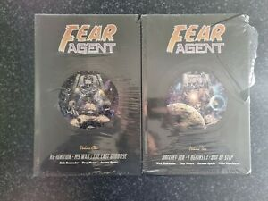 Fear Agent Library Edition vol 1 & 2 - OOP HTF - New! Rick Remender - Dark Horse