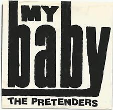 "PRETENDERS~MY BABY/ROOM FULL OF MIRRORS 1987 U.S. SIRE REC 28496 7"" SINGLE w/PS"