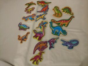 Melissa and Doug Dinosaur Magnets 18 Wooden Magnets