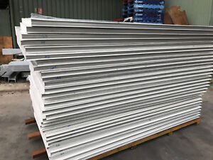 New EPS Sandwich Coolroom Panel 1150x2400 steel 0.5mm thick