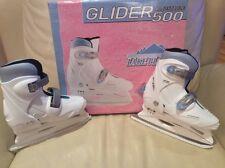 Lake Placid Glider 500 adjustable Ice Skates. Size 12-1 youth.