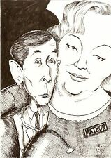Greeting Card - Kenneth Williams & Hattie Jacques Carry On