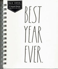 Rae Dunn 2022 Best Year Ever 17 Month Planner Calendar 2022