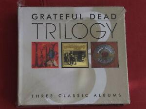 The Grateful Dead - Trilogy: Live Dead / Workingman`s Dead / American Beauty NEW