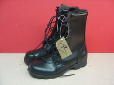 Women's ROTHCO Black Tall Military Boots Size 5 NWT