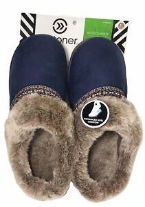 NEW Women's size 7.5-8 Woodlands Slipper mule slide Navy Blue Size 9.5 - 10