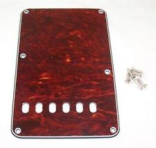 LEFT HANDED BACK PLATE  FOR FENDER STRAT/ BACKPLATE FOR STRAT /  FAUX TORTOISE