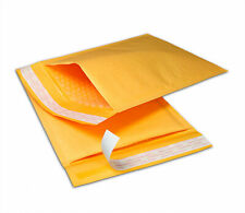 "100PCS #000 4"" x 8"" Kraft Bubble Mailers Envelopes Shipping Padded Mailing Bags"