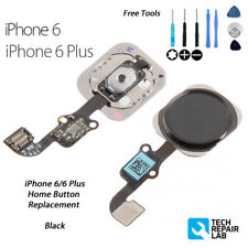 NEW iPhone 6 Complete Home Button Replacement Flex w/Gasket w/Tools - BLACK
