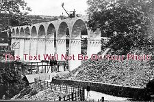 CO 152 - Building Of Calstock Viaduct, Cornwall - 6x4 Photo