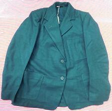 """VINTAGE Ragazze Verde Blazer Bukta 1950 S 1960 S School Uniform Bambini vestiti 32"""""""